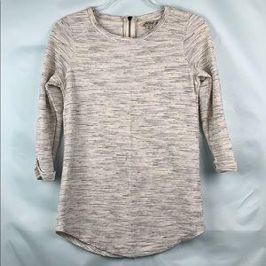 Lucky Brand long sleeve tunic with zipper